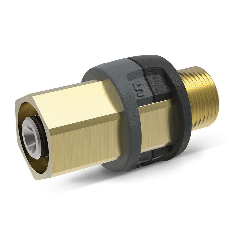 ADAPTER 5 EASY!Lock 22 IG - M22 X 1,5 AG